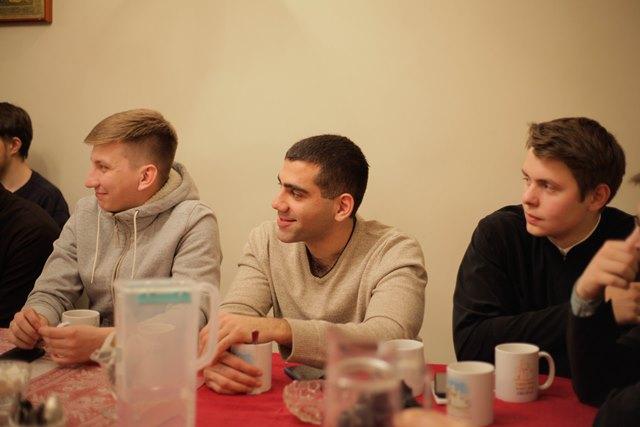 Помощник настоятеля по молодежно-миссионерскому Евгений Гапонов принял участие в собрании Православной молодежи Дона