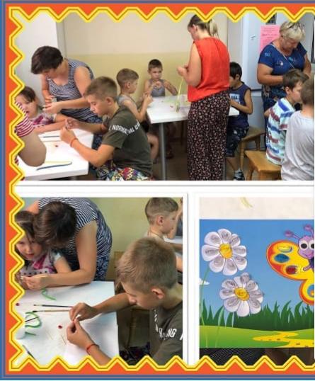 Волонтеры Софийского храма провели мастер-класс по квиллингу в отделении медицинской реабилитации для детей с ограниченными возможностями