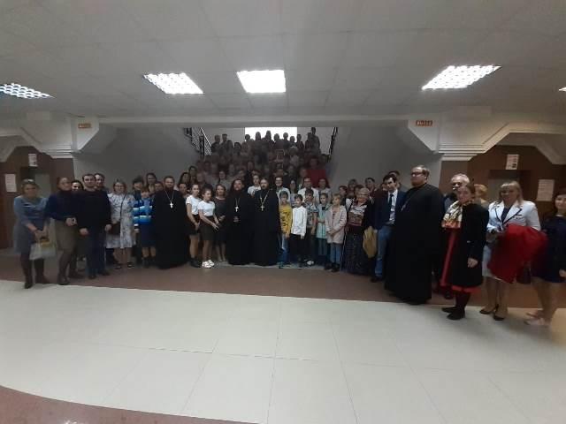 Директор Воскресной школы  Софийского храма Наталья Бурлаченко приняла участия в  XXIV Димитриевских образовательных чтений