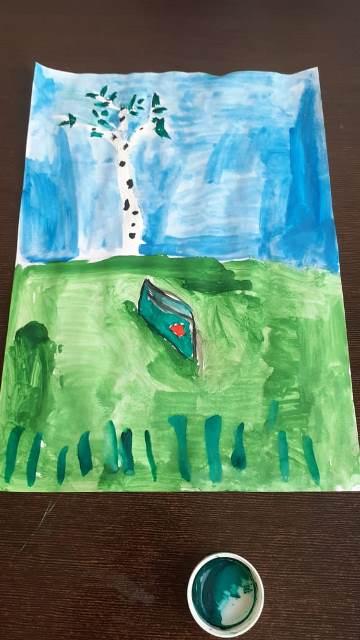 Ученики Воскресной школы стали участниками акций «Дети рисуют Победу» и «Песни Победы»