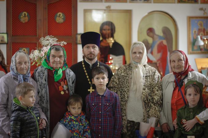 В Софийском храме Ростова-на-Дону отметили День Победы
